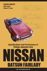 NISSAN DATSUN FAIRLADY (Specifications and Performance of Vintage Japanese Cars)